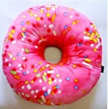 Bunk Junk Donut Autograph Pillow for Sleep Away Camp, Birthdays, Parties and Family Events