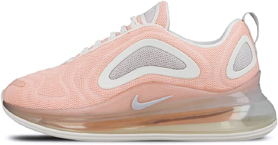 nike air max 720 orange and white