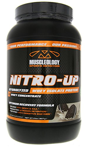 Muscleology Nitro-Up Cookies & Cream Supplement, 2 Pound