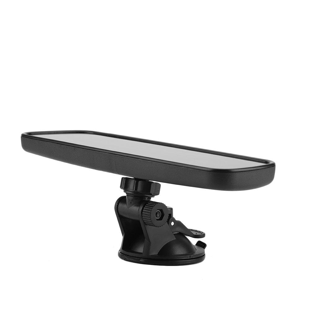 KIMISS KI07108 Espejo retrovisor Frontal del Parabrisas del Coche con Accesorio Interior para Montaje en Ventosa