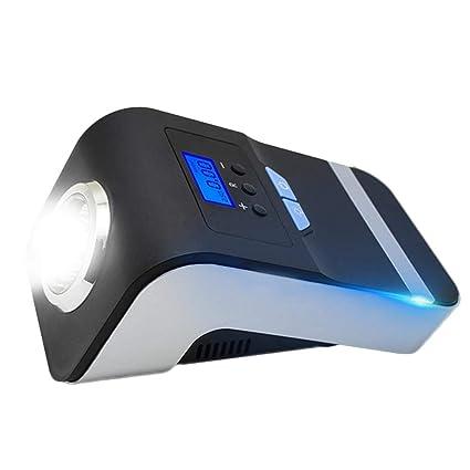 LiféUP 12V Inflador de Neumáticos de Coche Bomba de Aire Eléctrico LED Pantalla para Rueda de
