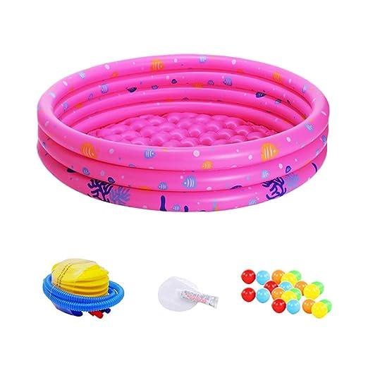 GZQES Piscina Hinchable para Bebe,, PVC Piscina de natación para ...