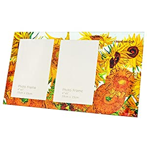 Hanipol 044-5102 Van Gogh Photo Frame-Sunflowers, Multicolour