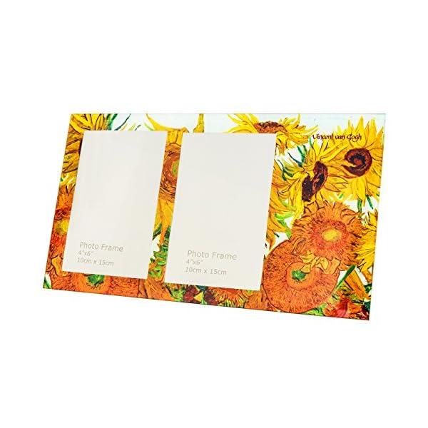 Hanipol 044-5102 Van Gogh Photo Frame-Sunflowers, Multicolour