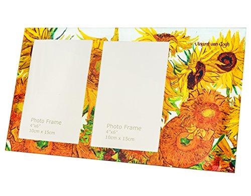 5102 Van - Hanipol 044-5102 Van Gogh Photo Frame-Sunflowers, Multicolour