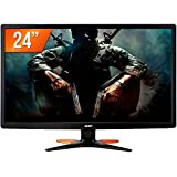 "Monitor Gamer Acer GN246HL 24"" Full HD 144Hz 1ms DVI VGA HDMI"