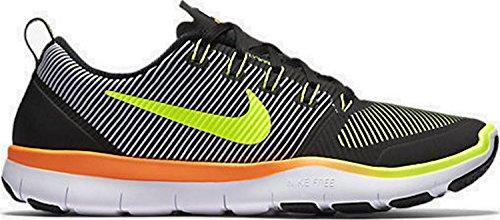Nike Free Train Versatility, Zapatillas de Senderismo para Hombre Negro (Black / Volt-Total Orange)
