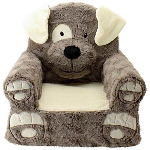Sweet Seats | Brown Dog Children's Chair | Large Size | Machine Washable Cover by Sweet Seats