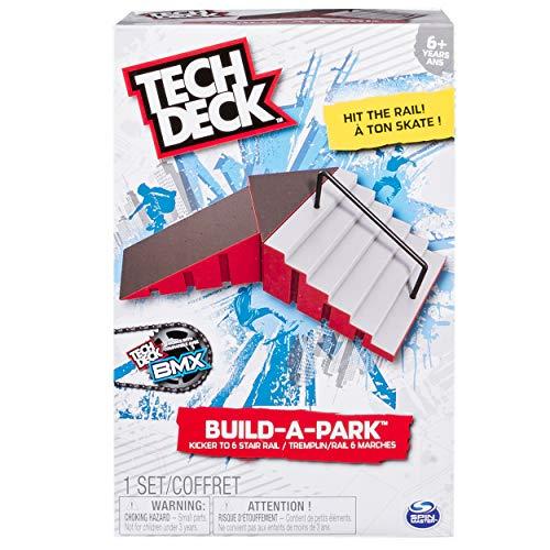 Tech Deck - Build-A-Park - Kicker to 6 Stair Rail