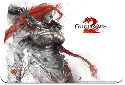 SteelSeries QcK Guild Wars 2 Gaming Mouse Pad - Eir Edition by SteelSeries