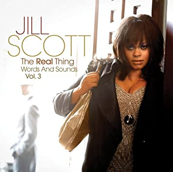 Jill Scott The Real Thing Words And Sounds Vol 3 Amazon Com Music