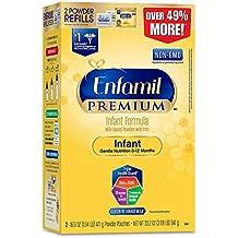 Enfamil PREMIUM Non-GMO Infant Formula, Powder 33.2 Refill Box