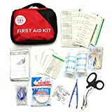 QOJA 101 pieces first aid kit nylon portable outdoor emergency