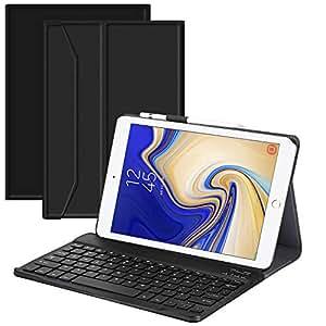 iPad Keyboard Case 10.5 for 2019 iPad air3 /2017 iPad pro, Rimposky Detachable Wireless Bluetooth Keyboard - Magnetic Auto Sleep/Wake
