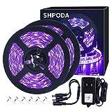 SHPODA 33ft LED Black Light Strip Kit, 600