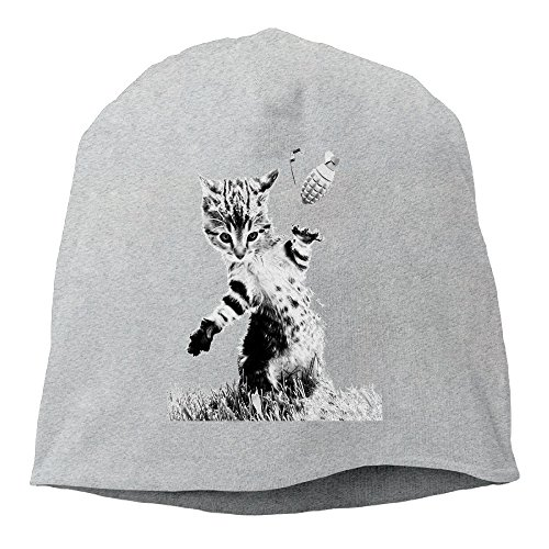 The Animal Cat Throw Grenade Cats Wool Watchcap Beanie Hat