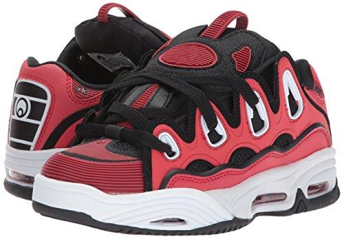 Osiris D3 Pour Blanc Rouge Hommes Chaussures 2001 De Skateboard 1vZR1IT