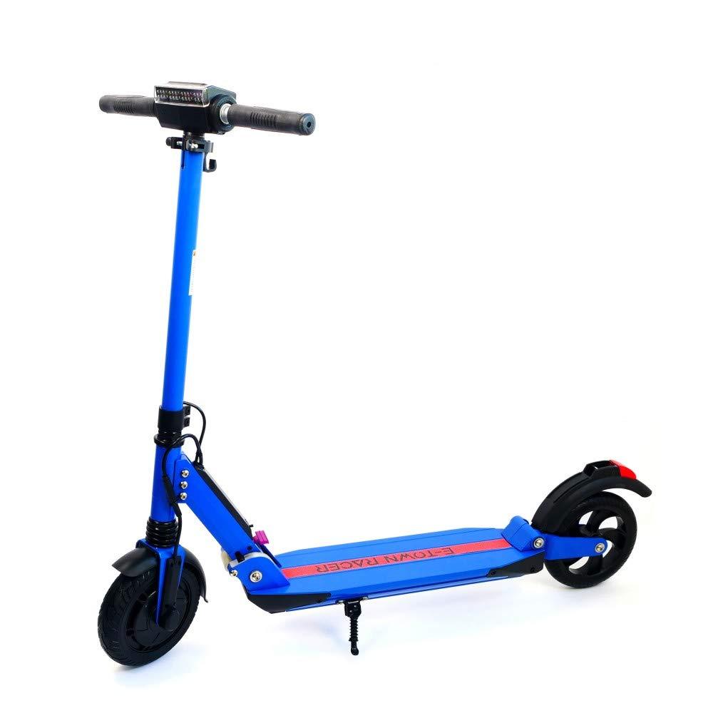 E-Town Racer - Patinete eléctrico para Adulto, Color Azul ...