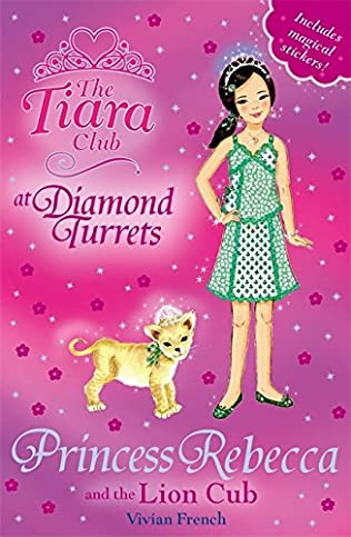 book cover of Princess Rebecca and the Lion Cub