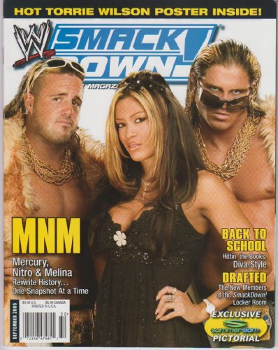 WWE Smackdown Magazine September ()