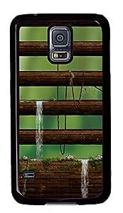 Samsung Galaxy S5 Nature style PC Custom Samsung Galaxy S5 Case Cover Black