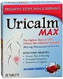 Uricalm Max Original Formula - 28 Tablets, Pack of 3