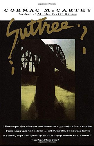 Book cover from Suttree by Cormac McCarthy