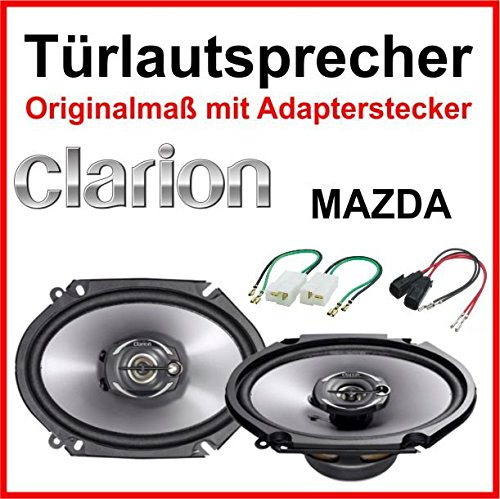 Clarion 6/x 8/sp/écialement con/çu pour Mazda MX5/MX6/avant//arri/ère portes