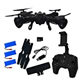 Hover-Way Alpha PRO with HD 720P CAMERA + LIVE VIEW via Controller - Black