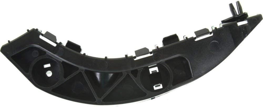 Bumper Filler compatible with 2006-2011 Honda Civic Set of 2 Black Front Left and Right Side Sedan