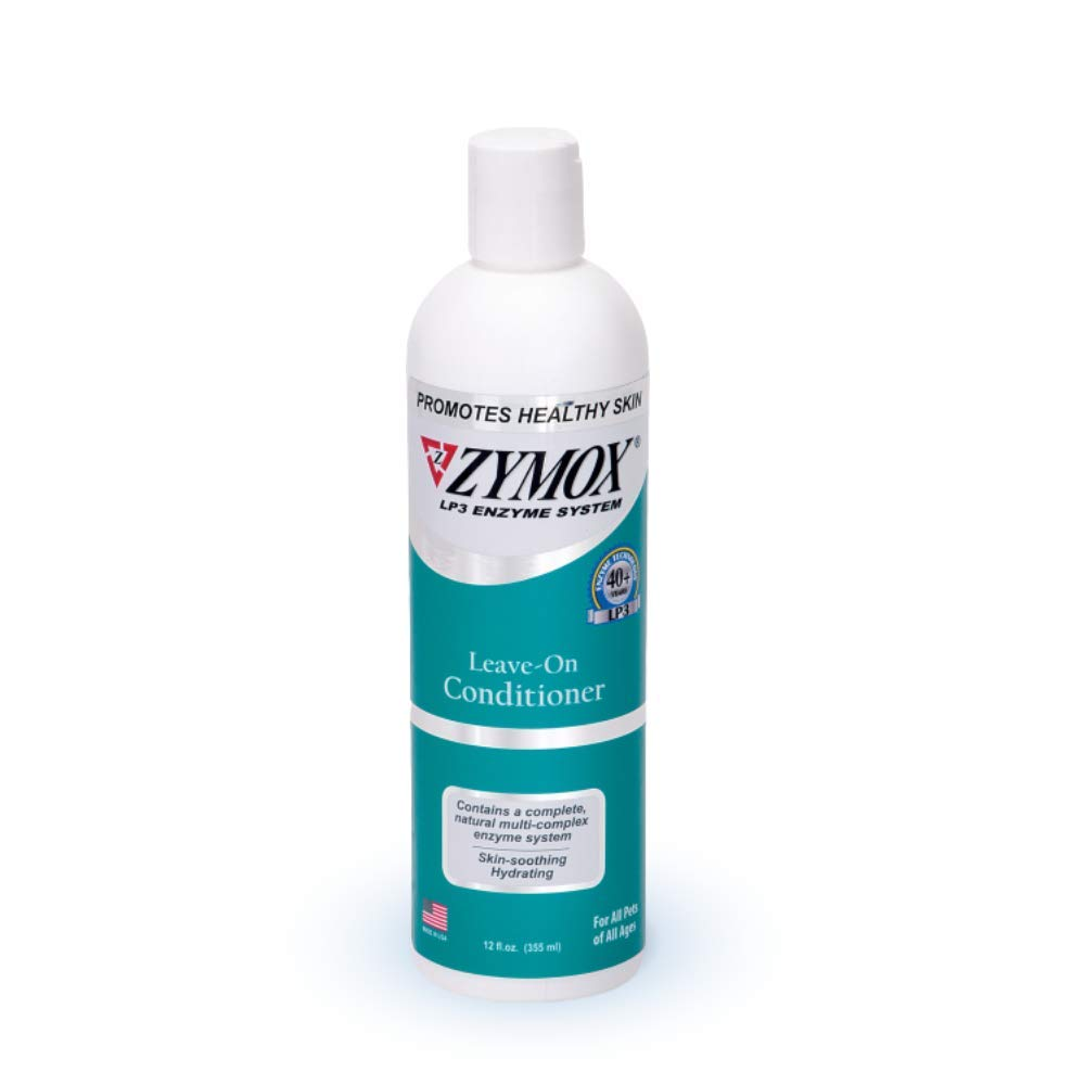 Zymox Leave On Conditioner for Pets, 12 fl oz