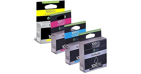 Amazon.com: Lexmark Pinnacle Pro901 Juego de Cartuchos de ...