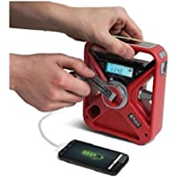 Eton American Red Cross All-Hazard Radio / Portable Charger with Solar and LED Flashlight