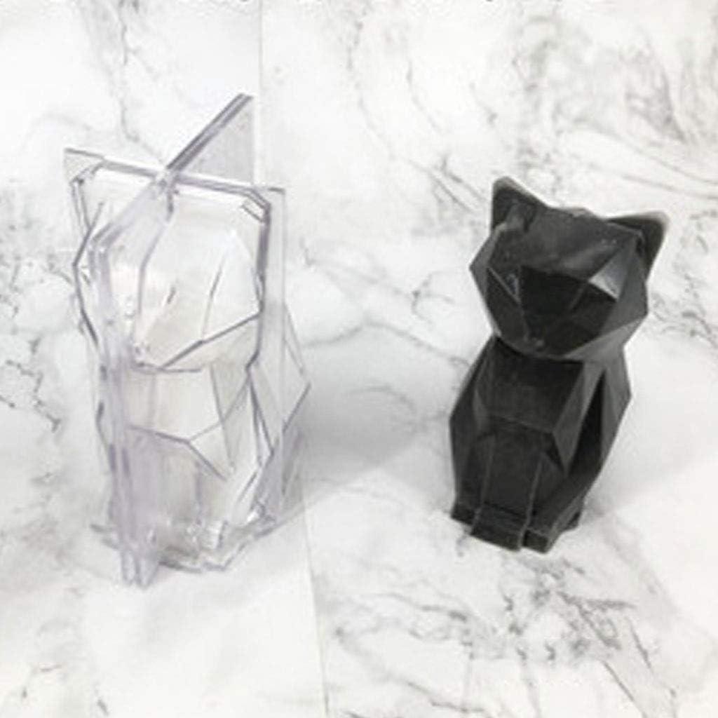 Farbe zuf/ällig JOYKK Kerzenformen f/ür DIY Kerzenherstellung Kit liefert Katzenform