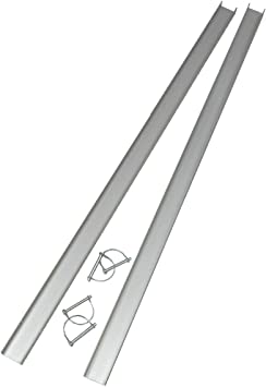 Uniko 6in1 Aluminiumschienen 1er Set Faltrampe Sandboard Traktionshilfe Anfahrhilfe Auto