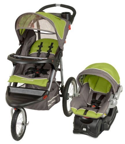 Amazon Baby Trend Expedition Jogger Jogging Stroller Car Seat Travel System
