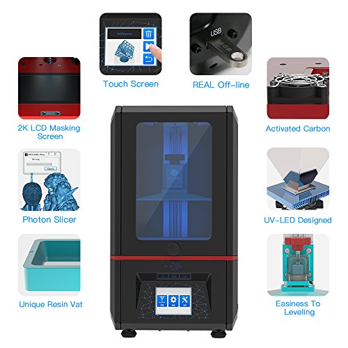 ANYCUBIC Photon 3D Printer Upgrade Model LCD Masking UV