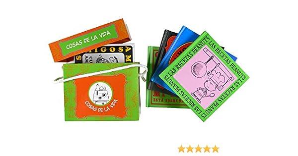 Cosas de la vida: Caja contenedor Snoopy y Carlitos: Amazon.es: Charles M. Schulz: Libros