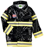 Western Chief Toddler/Little Kid F.D.U.S.A. Raincoat, Black/Yellow, 5-6 Little Kid