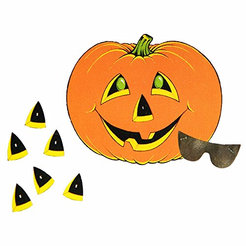 Pumpkin Game (mask & 12 noses included) Party Accessory  (1 count) (1/Pkg)