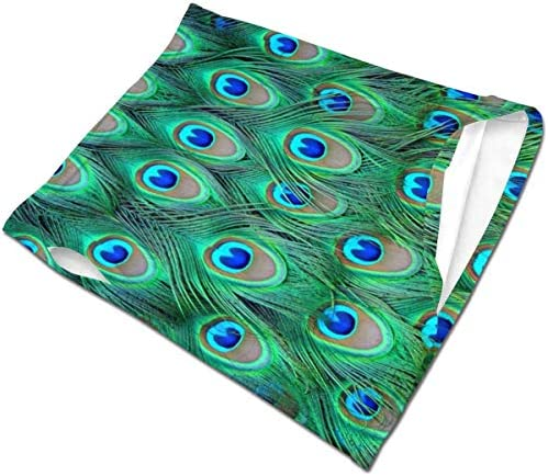 フェイスカバー Uvカット ネックガード 冷感 夏用 日焼け防止 飛沫防止 耳かけタイプ レディース メンズ Peacock Feathers