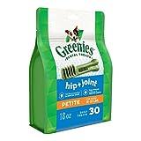 Greenies Hip and Joint Petite Dental Dog Chews - 18 Ounces 30 Treats