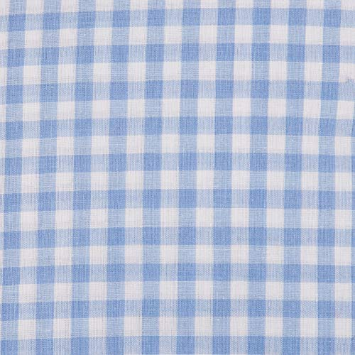 (Richland Textiles Richcheck 60in Gingham Check 1/4in Blue Fabric By The Yard)