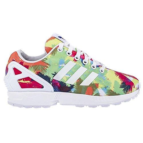 3 Zx Eu38 Sneakers Damen Mehrfarbig Adidas Flux 2 zqZy7F