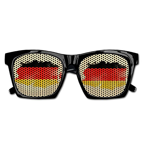 Xing Stars Colorful Summer Unisex German Flag Cloud Fashion Party Costume - German Flag Sunglasses