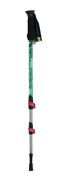HealthPro MBC-M361Q Professional Weather-Resistant Duralumin Aluminum Trekking Pole Walking Stick Single