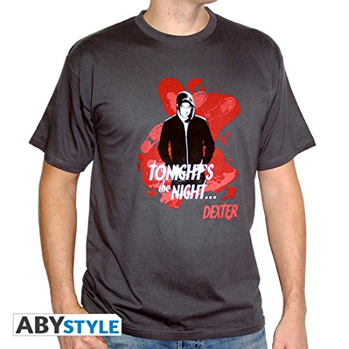 Grey Tonight's Tshirt Taille Night Homme Dark Basic Dexter Xl The cRfHYqSYw