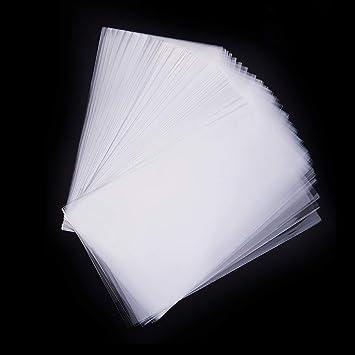 Pandahall elite 600 bolsas de celofán de 25 x 15 cm, transparente, bolsas para joyas Galletas Pastelería, Rectángulare, aprox. 600 unidades/bolsa