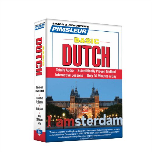 Pimsleur Dutch Basic Course - Level 1 Lessons 1-10 CD: Learn to Speak and Understand Dutch with Pimsleur Language Programs by Brand: Pimsleur