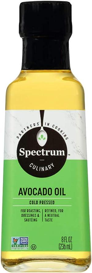 Spectrum Culinary Refined Avocado Oil, 8 fl. oz. (hbf-jjj-omgh-mh9782)
